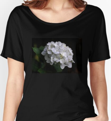 I love a White Hydrangea don't you? Women's Relaxed Fit T-Shirt