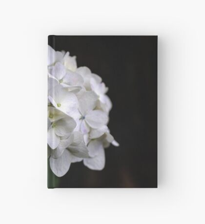 I love a White Hydrangea don't you? Hardcover Journal