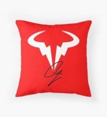 Rafael Nadal RN Tennis Player Logo Throw Pillow