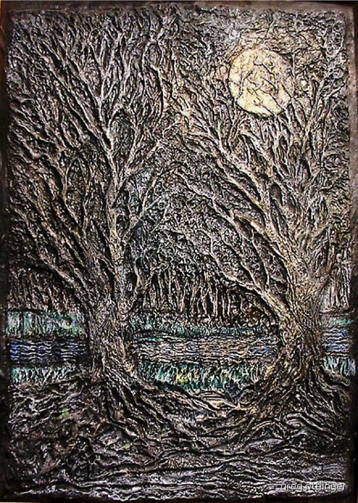 forest through the trees by greg ottlinger