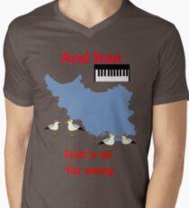 IRAN - Misheard Song Lyric Men's V-Neck T-Shirt