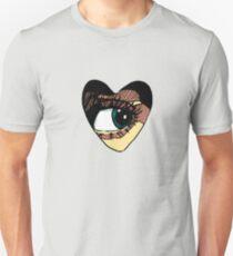 heart eye Unisex T-Shirt