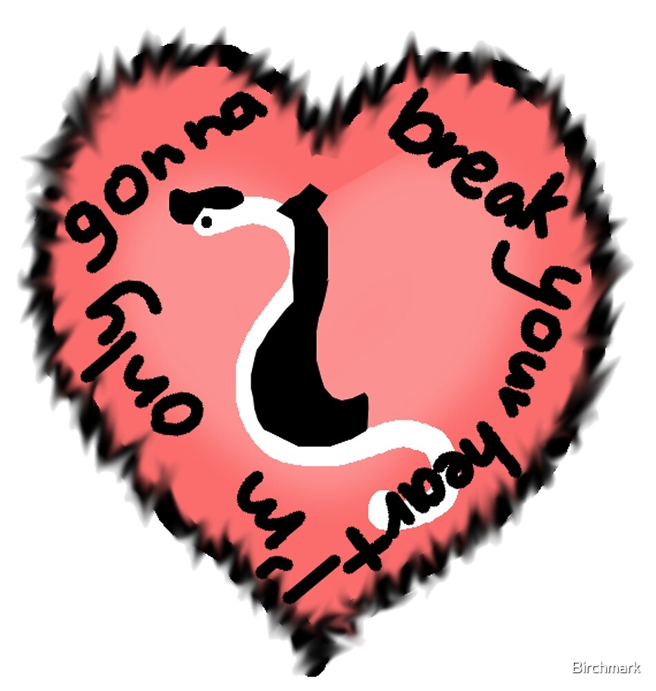 Heartworm Heart throb by Birchmark