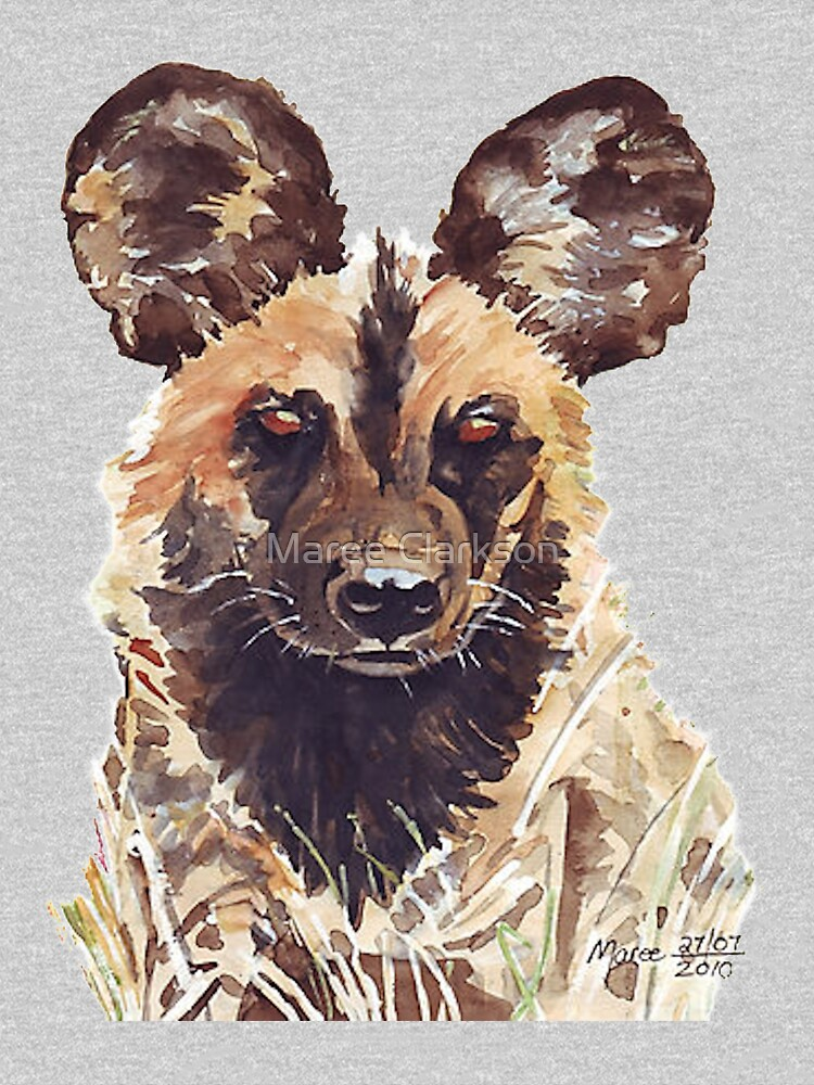 African Wild Dog by MareeClarkson