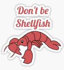 Shellfish Lobster Sticker
