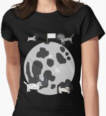Moon Puppies Women's Fitted T-Shirt