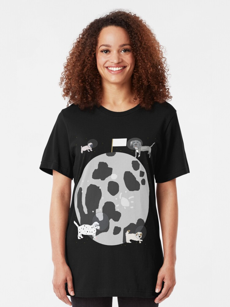 Alternate view of Moon Puppies Slim Fit T-Shirt