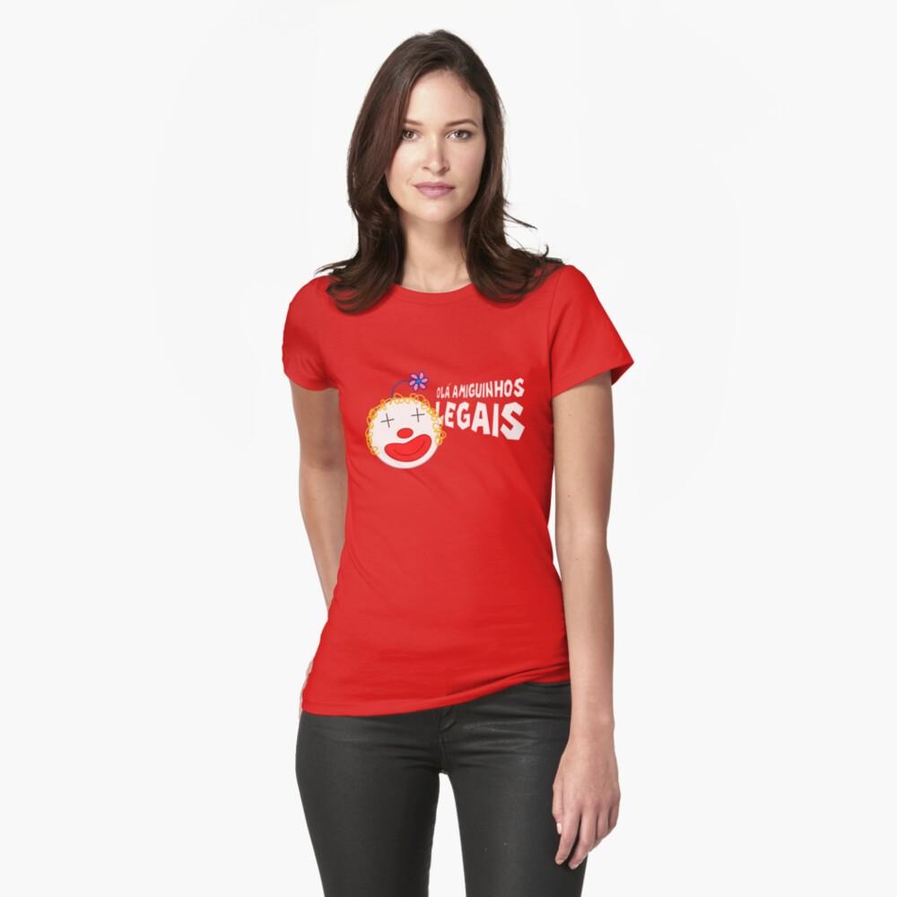 Silvia - Olá Amiguinhos Legais Womens T-Shirt Front