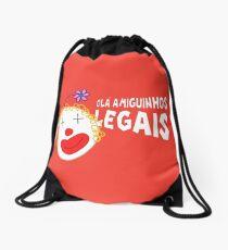 Silvia - Olá Amiguinhos Legais Drawstring Bag