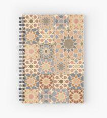 Vintage mosaic tile design Spiral Notebook