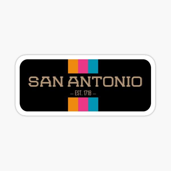 San Antonio Wild West  Sticker