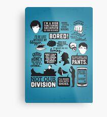I'd Be Lost Without My Blogger Metal Print