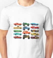 Toy Car Collage Unisex T-Shirt