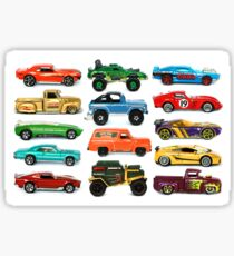 Toy Car Collage Sticker