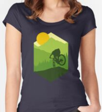 Bike More Women's Fitted Scoop T-Shirt