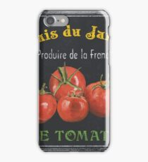 French Vegetables 1 iPhone Case/Skin