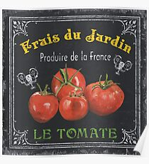 French Vegetables 1 Poster