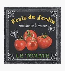 French Vegetables 1 Photographic Print