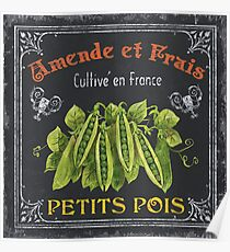 French Vegetables 2 Poster