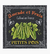 French Vegetables 2 Photographic Print