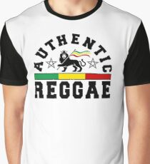 Authentic Reggae Graphic T-Shirt
