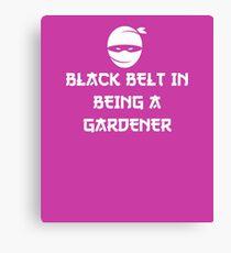 Gardener Funny  Canvas Print