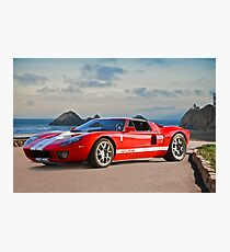 Ford GT 'Seaside' Photographic Print