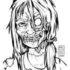 Zombie School Girl - OOTD style by simplydikka