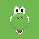 Yoshi face by gingerraccoon