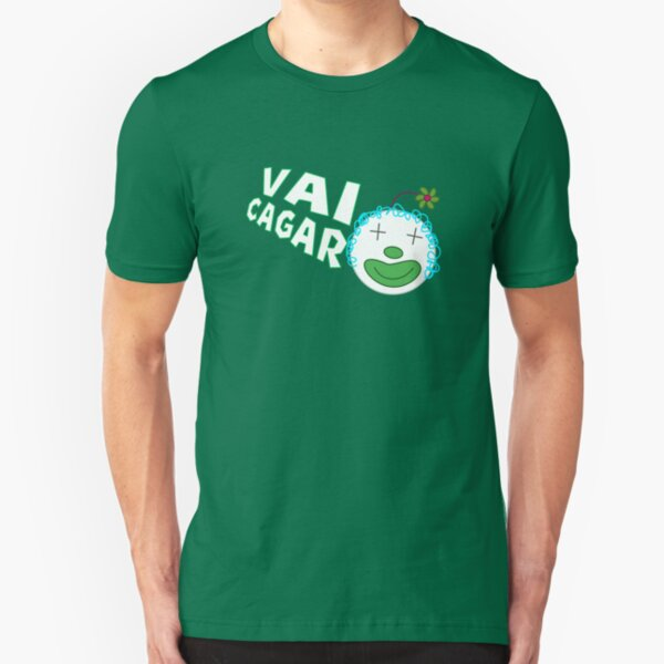 Silvia da Silvia - Vai Cagar Slim Fit T-Shirt