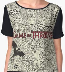 Ice and Fire Women's Chiffon Top