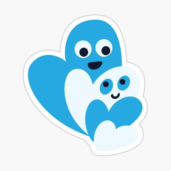Happy Hearts Family Sticker