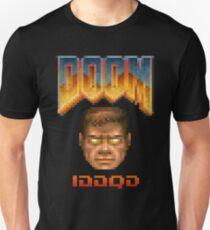 Doom iddqd face Unisex T-Shirt
