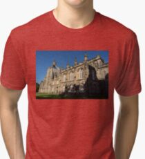 The Crown Tower - University of Aberdeen Kings College Chapel  Tri-blend T-Shirt