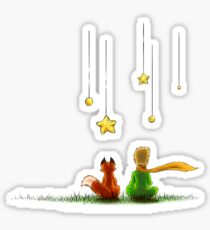 The little prince stickers redbubble - Sticker petit prince ...