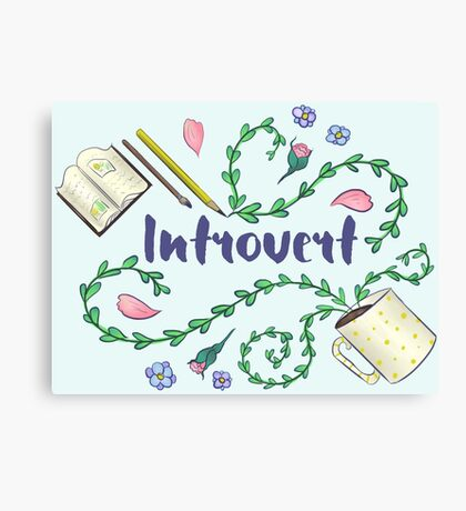 Introvert Canvas Print