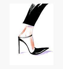 fashion #4: high-heeled shoes Photographic Print