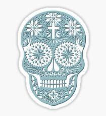 Openwork skull Sticker