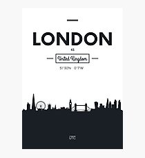 city skyline London Photographic Print