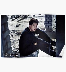Stuck Jooheon MonstaX Poster