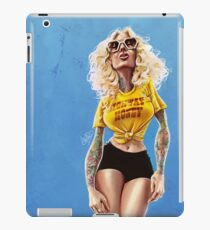 Highway Honey Retro Pinup Lass with Sass iPad Case/Skin