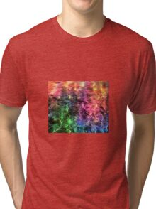 The End Of The Rainbow Abstract Tri-blend T-Shirt