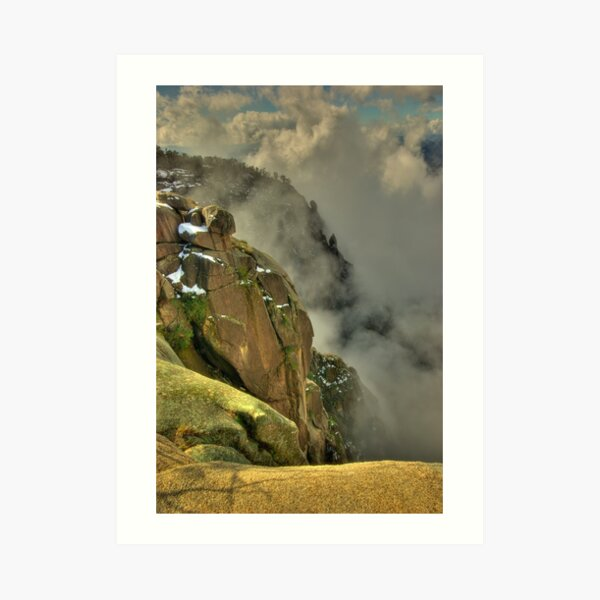 Mount Buffalo Gorge  Art Print