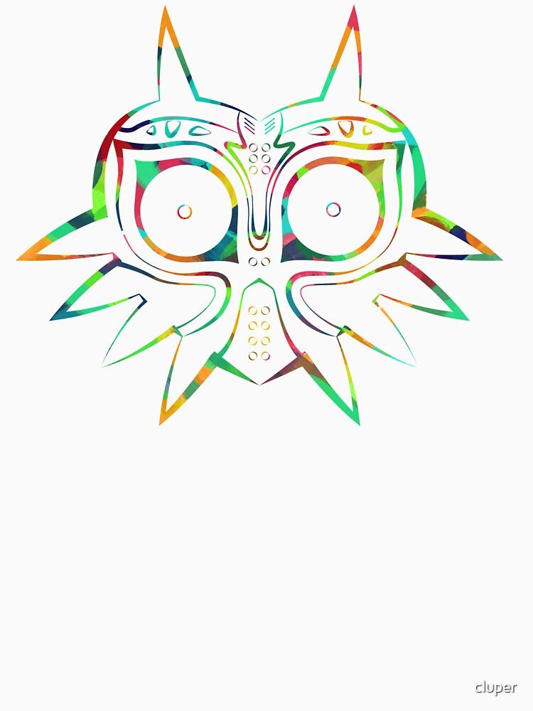 Majora's Mask Lines Color | Unisex T-Shirt