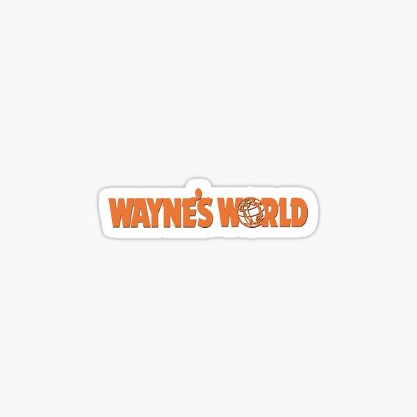 WAYNES WORLD STICKER Sticker