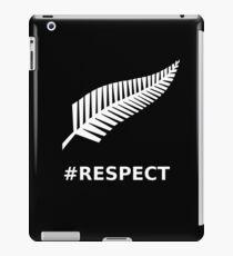 All Blacks Respect Fern iPad Case/Skin
