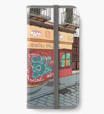 Arizonasaurus en Calle Feria iPhone Wallet/Case/Skin