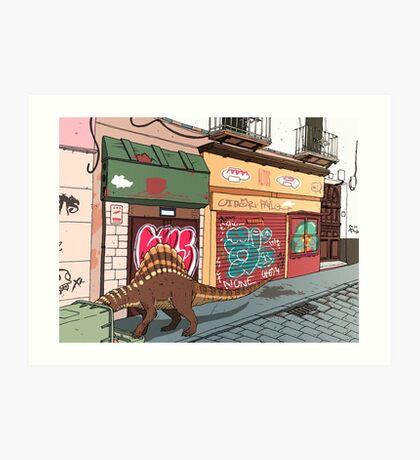Arizonasaurus en Calle Feria Art Print