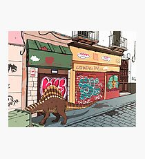 Arizonasaurus en Calle Feria Photographic Print