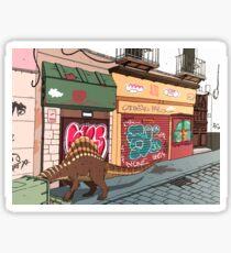 Arizonasaurus en Calle Feria Sticker